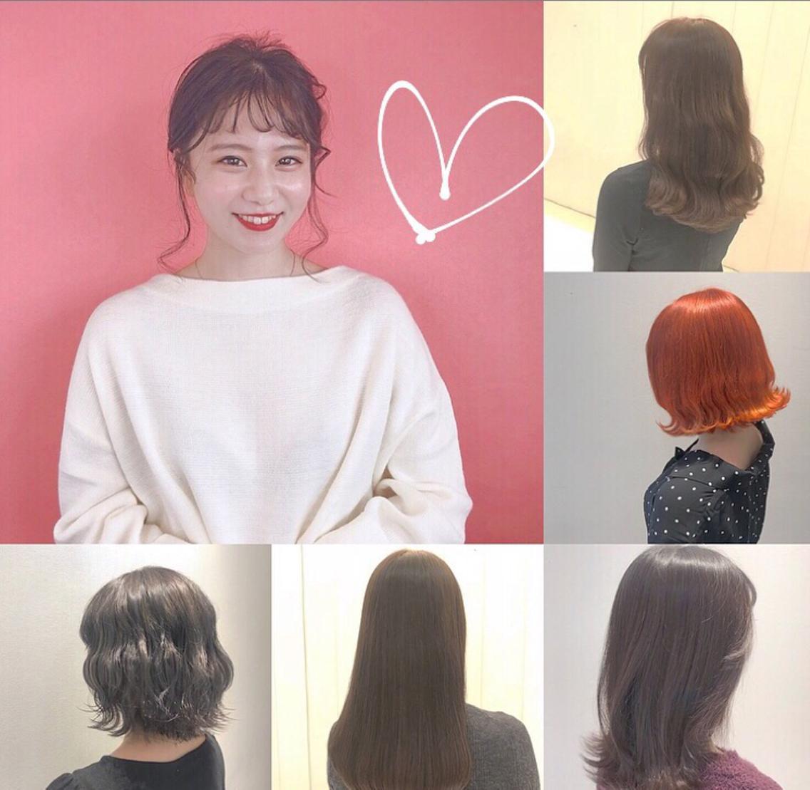 7月19日以降空きございます♡韓国style🇰🇷💗透明感カラー💚🧡ハイトーン🧡得意です💜💜夏に向けて可愛くさせてください🥺💗🧡💗🧡縮毛強制追加しました!当日予約⭕️⭕️