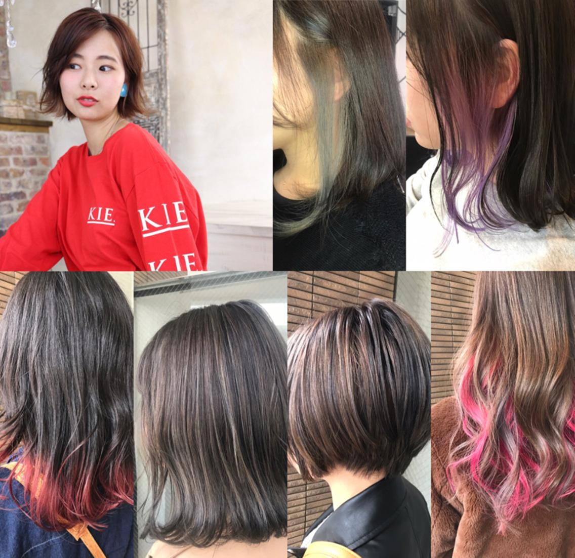 hair studio KIE./キー所属・おおいけさきの掲載