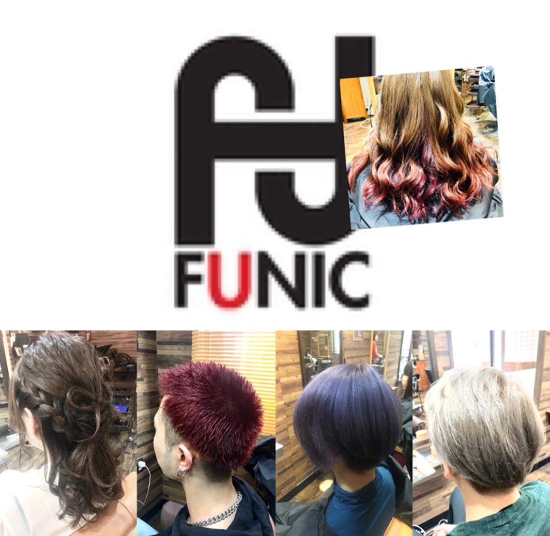 Hair&Nail salon FUNIC所属・FUNIC JUNの掲載