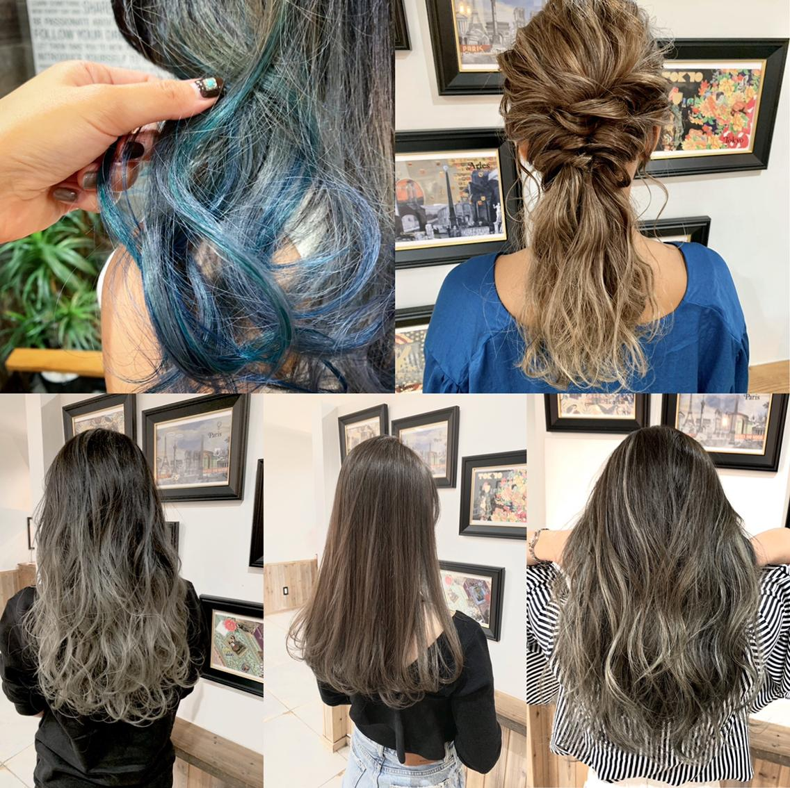 HairdesignNorm所属・奥原穂南の掲載
