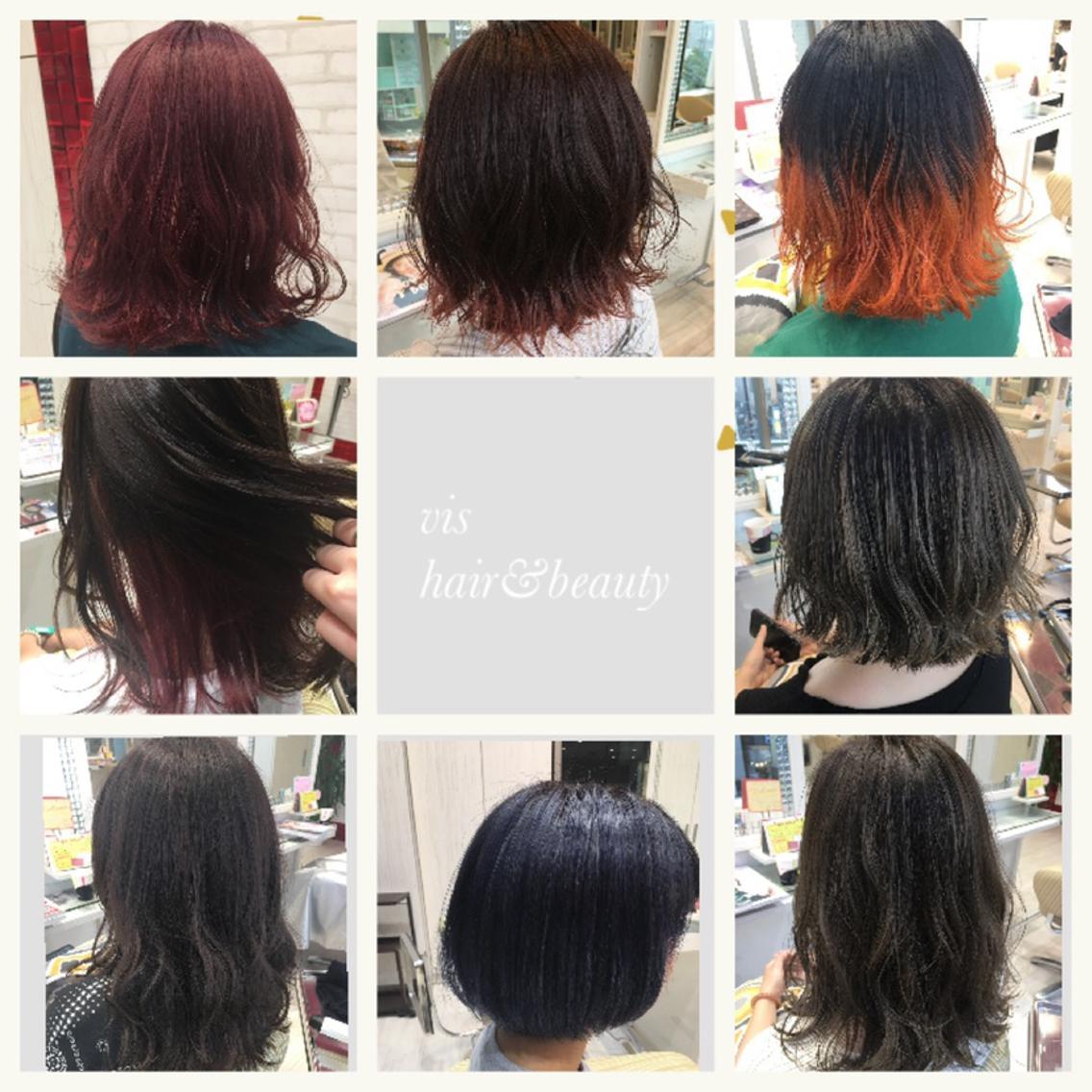 vis hair&beauty所属・落合桃瑠の掲載