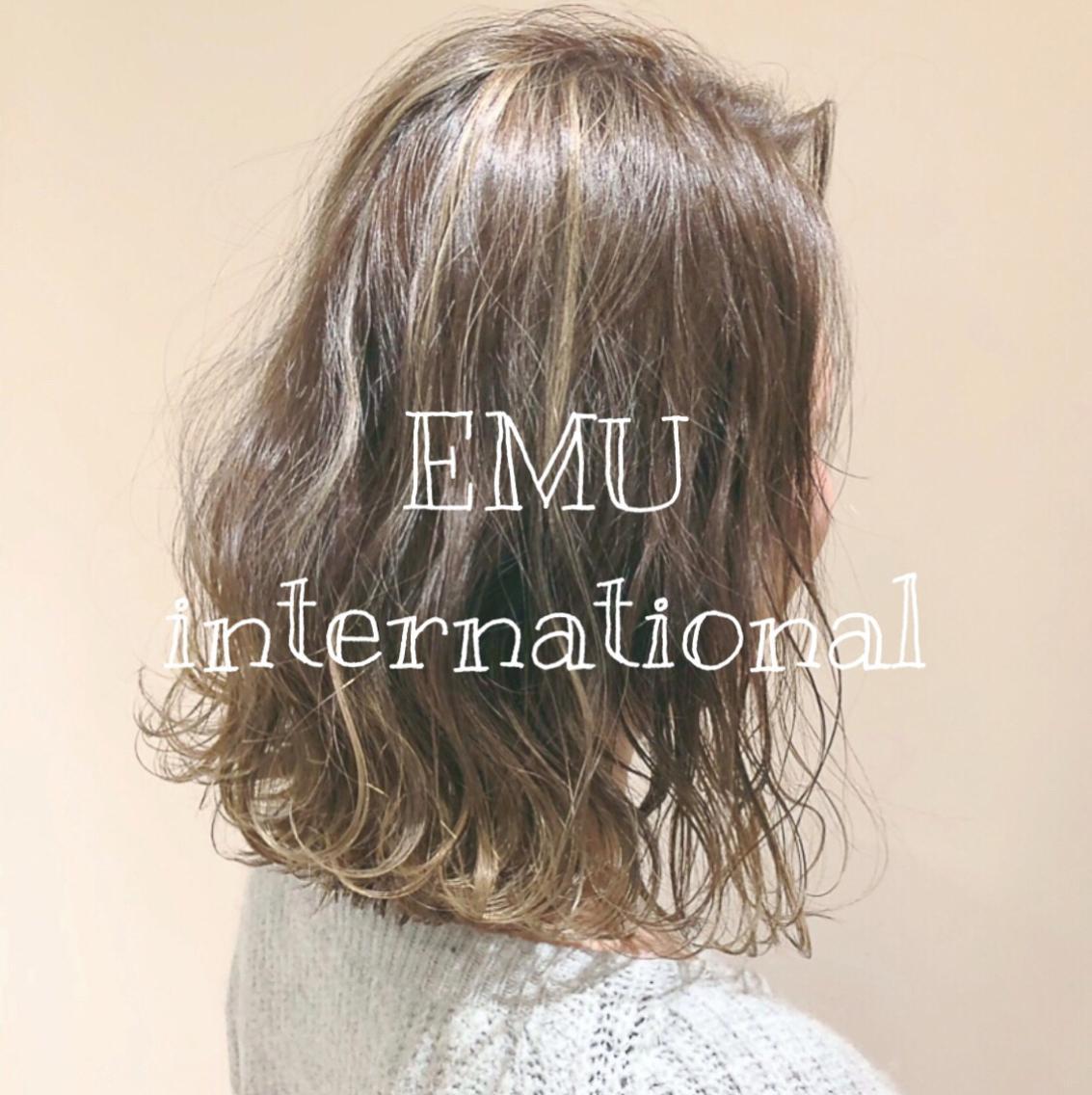 EMUinternational所属・常角友野の掲載