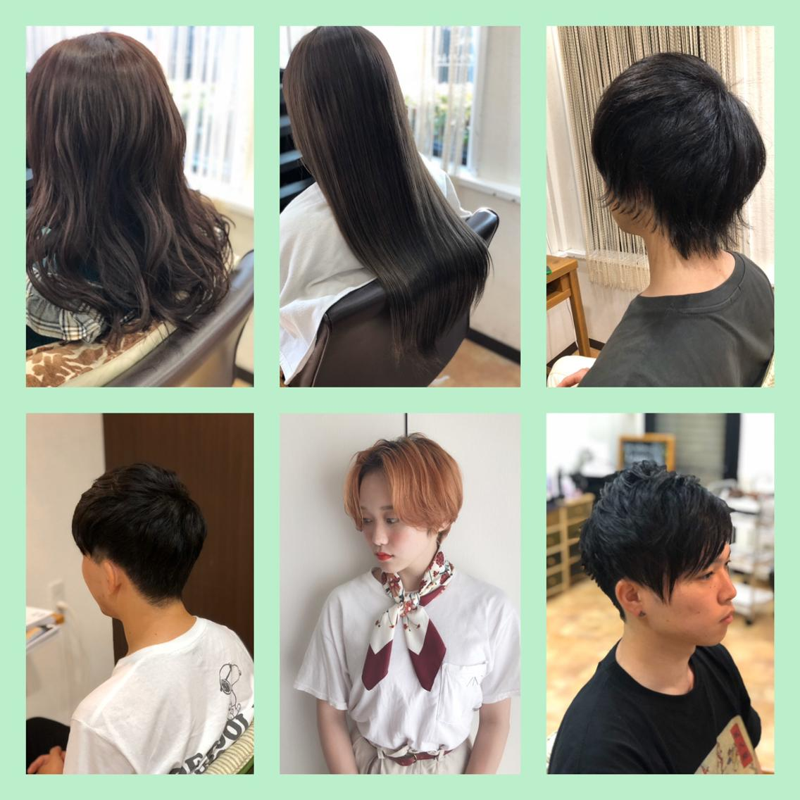 hairsalonLouvre所属・くらうちじゅらの掲載