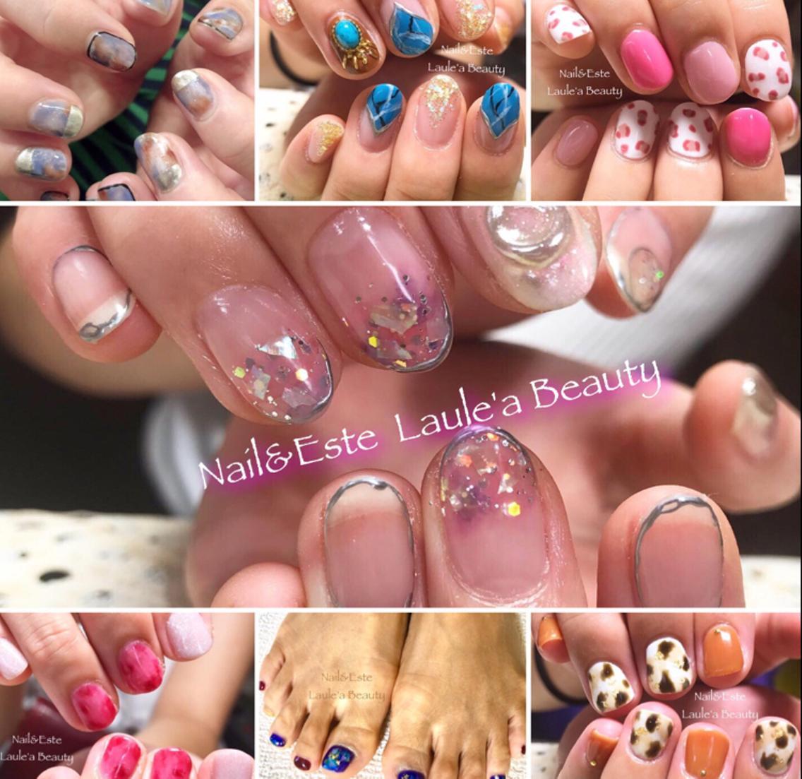 Nail&Este    Laule'a Beauty所属・Laule'aChimoの掲載