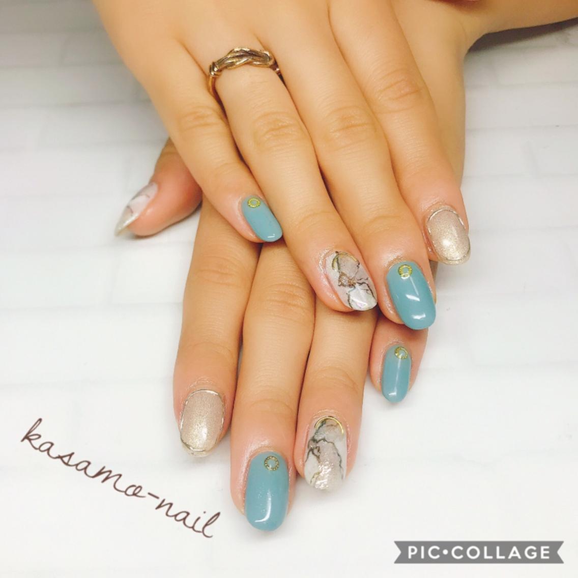 kasamo-nail所属・Nailist 🔸kasamoの掲載