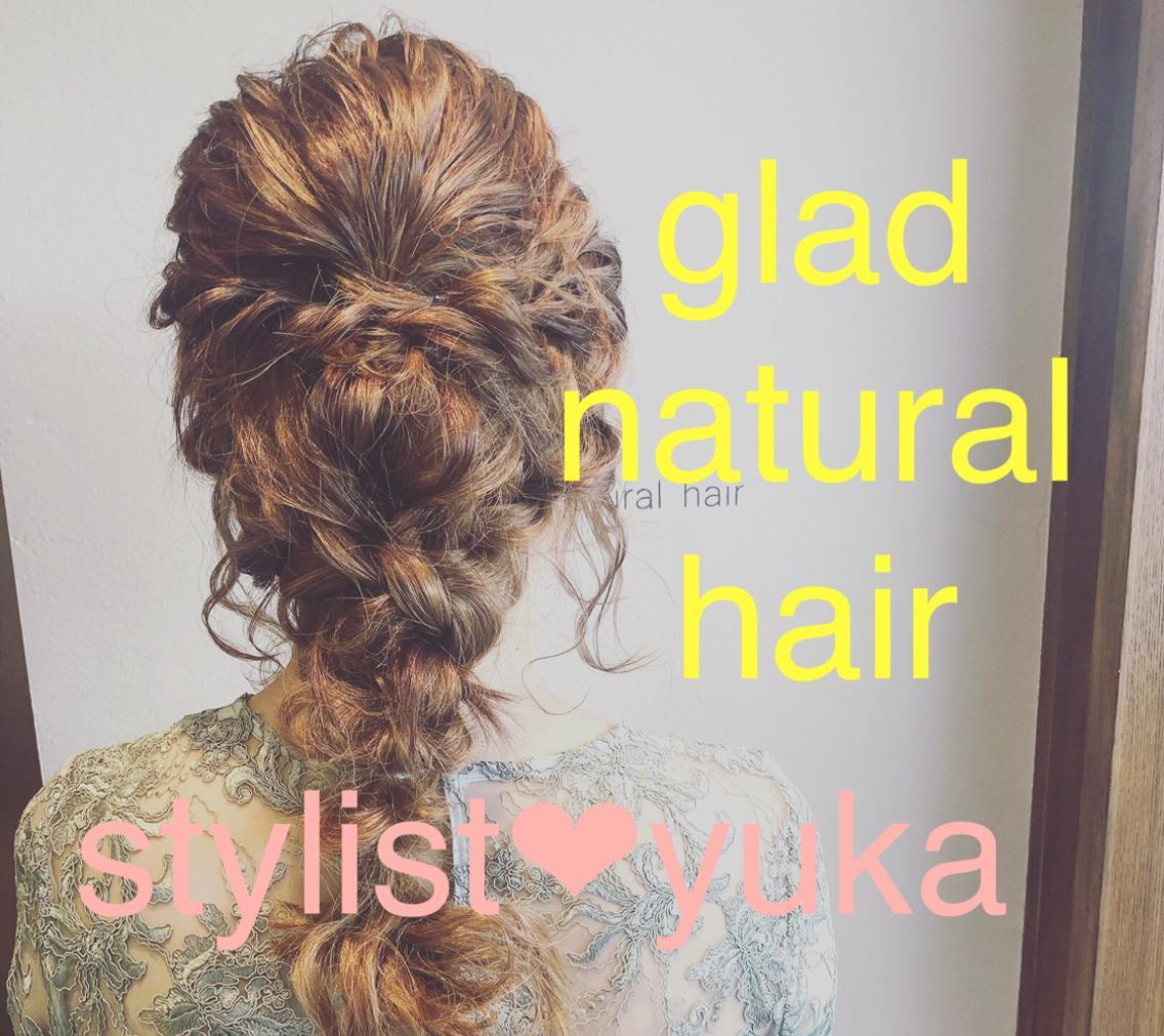 glad natural hair所属・gladyukaの掲載