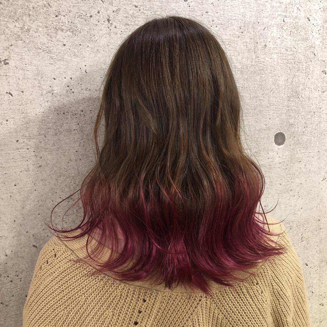 HAIR × design ARUE所属・サトウユウナの掲載