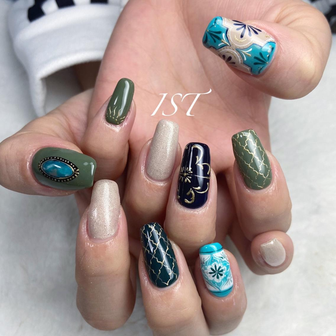 IST Nail&Relaxation Room所属・@Shucoの掲載