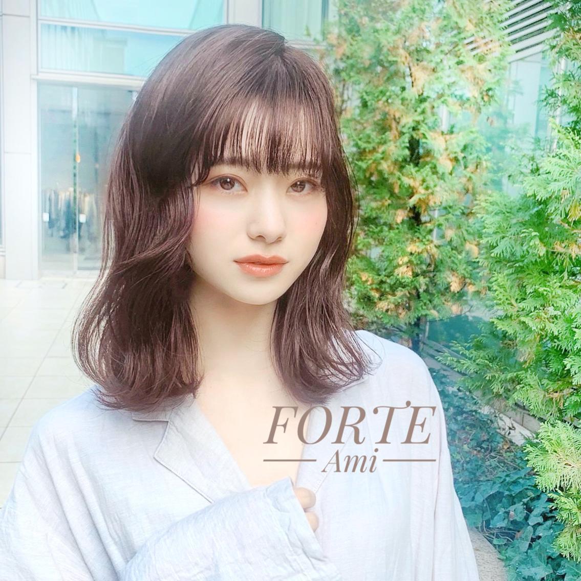 FORTE 表参道所属・カラーリスト原澤彩実の掲載