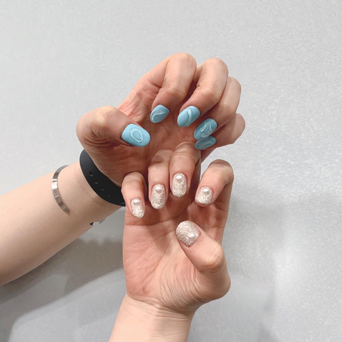 Nail Salon Coffret 瓜破店所属・岩井 颯那の掲載