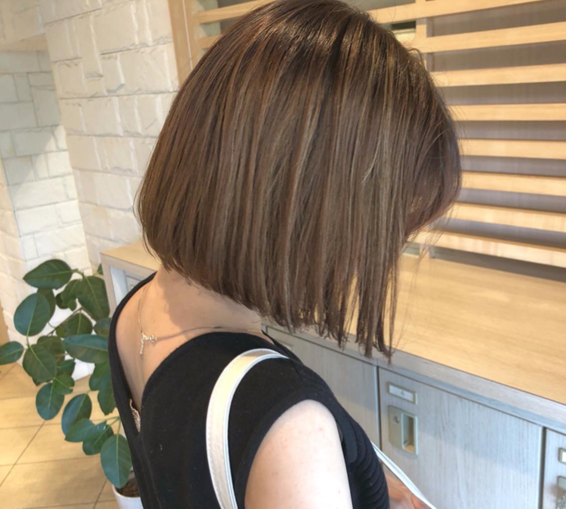 bisou  hair所属・屋比久真里奈の掲載