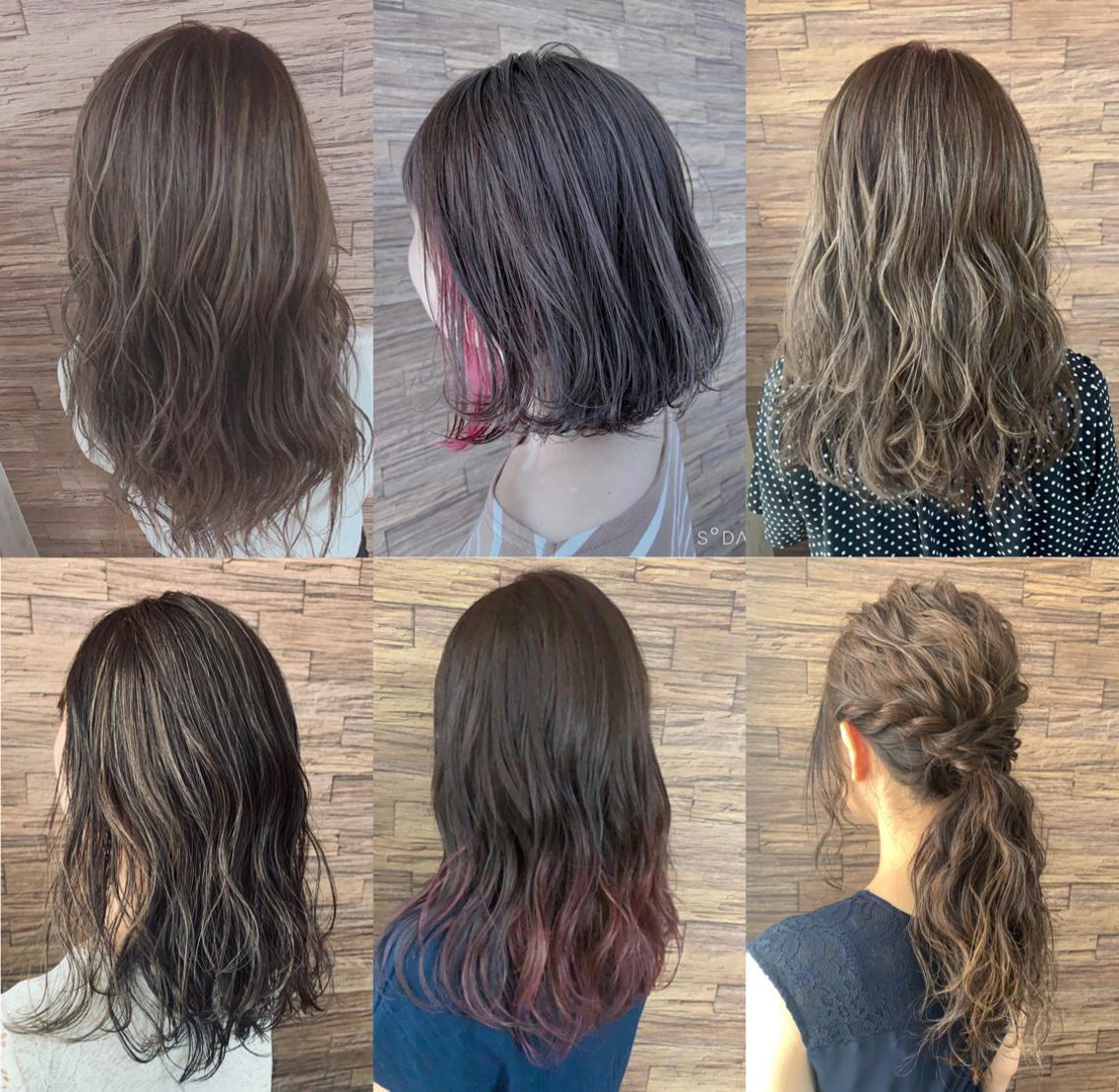 HairHomeno.8所属・有坂里恵の掲載