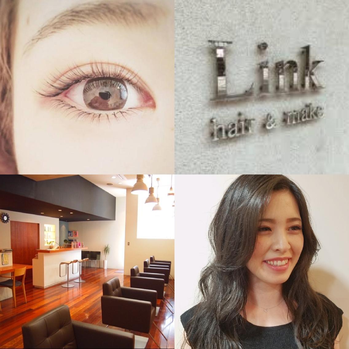 Link hair&make所属・小島実夏の掲載