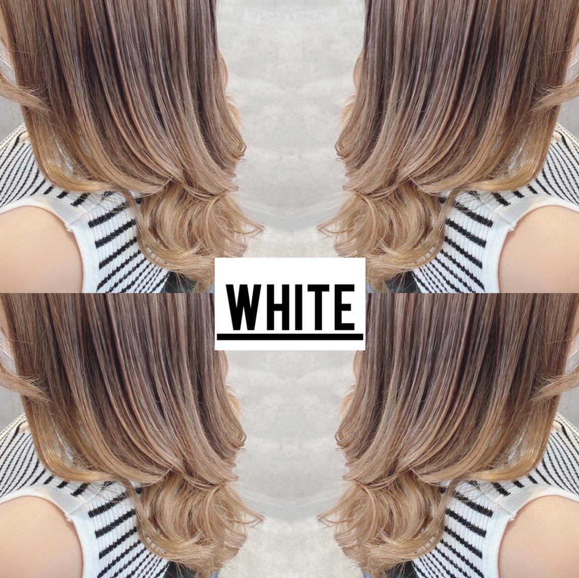 _white(アンダーバーホワイト)所属・YUYA/ハイトーン カラーの掲載