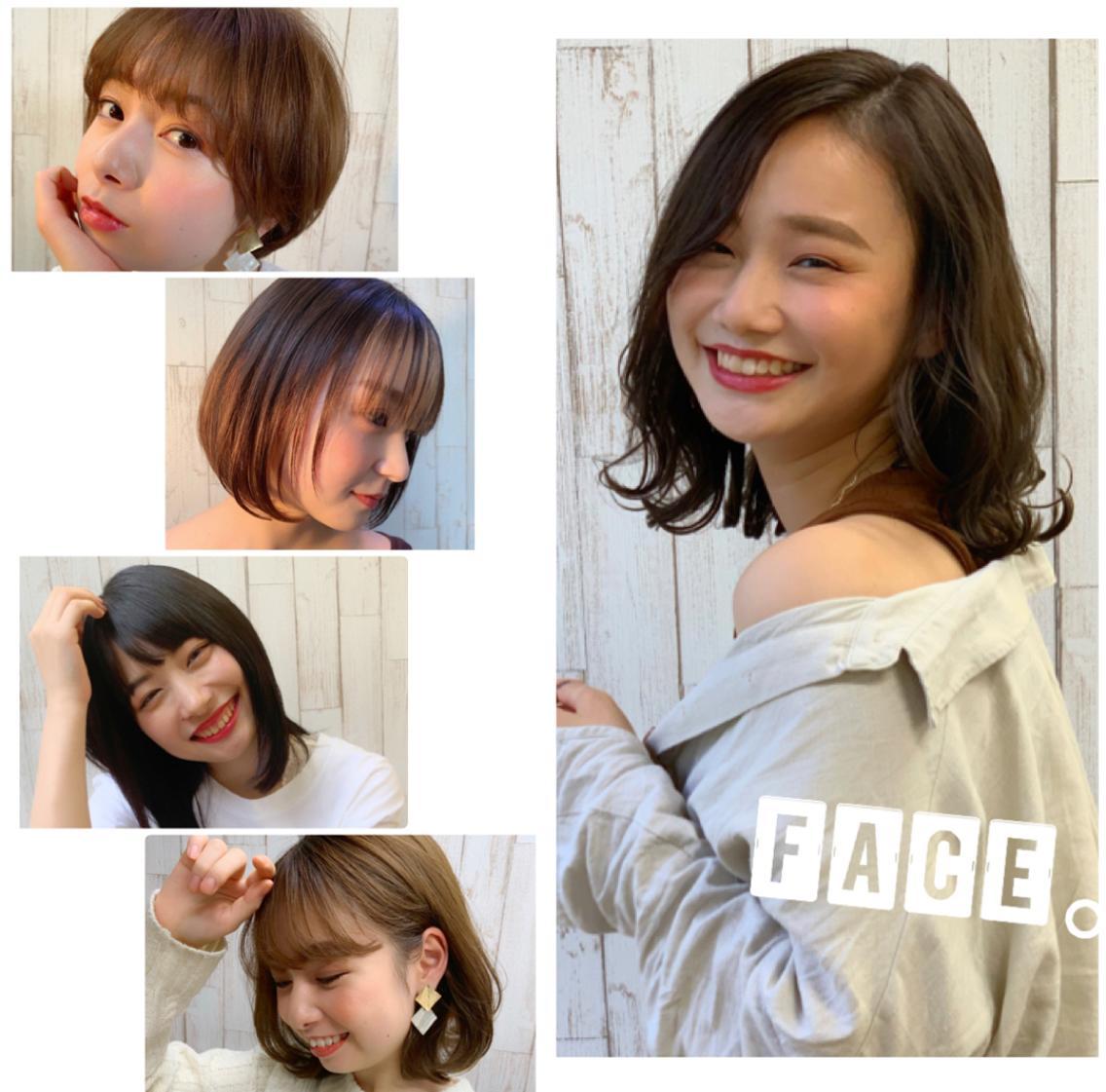 FACE。磯子所属・【透け感ボブ】平瀬 颯太郎の掲載