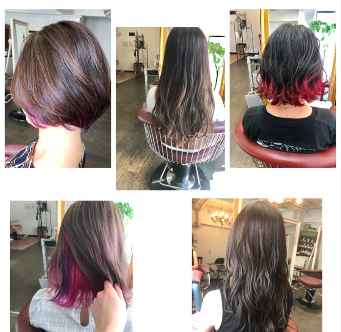 当日予約ok【口コミ4.9🌟】必見‼️カラーのスペシャリスト✨ブリーチ使わなくても透明感カラー‼️ダメージレスで髪を明るくしたい方へ✨マンツーマンで丁寧な技術を👌カラー後でも髪は綺麗なままで🌈