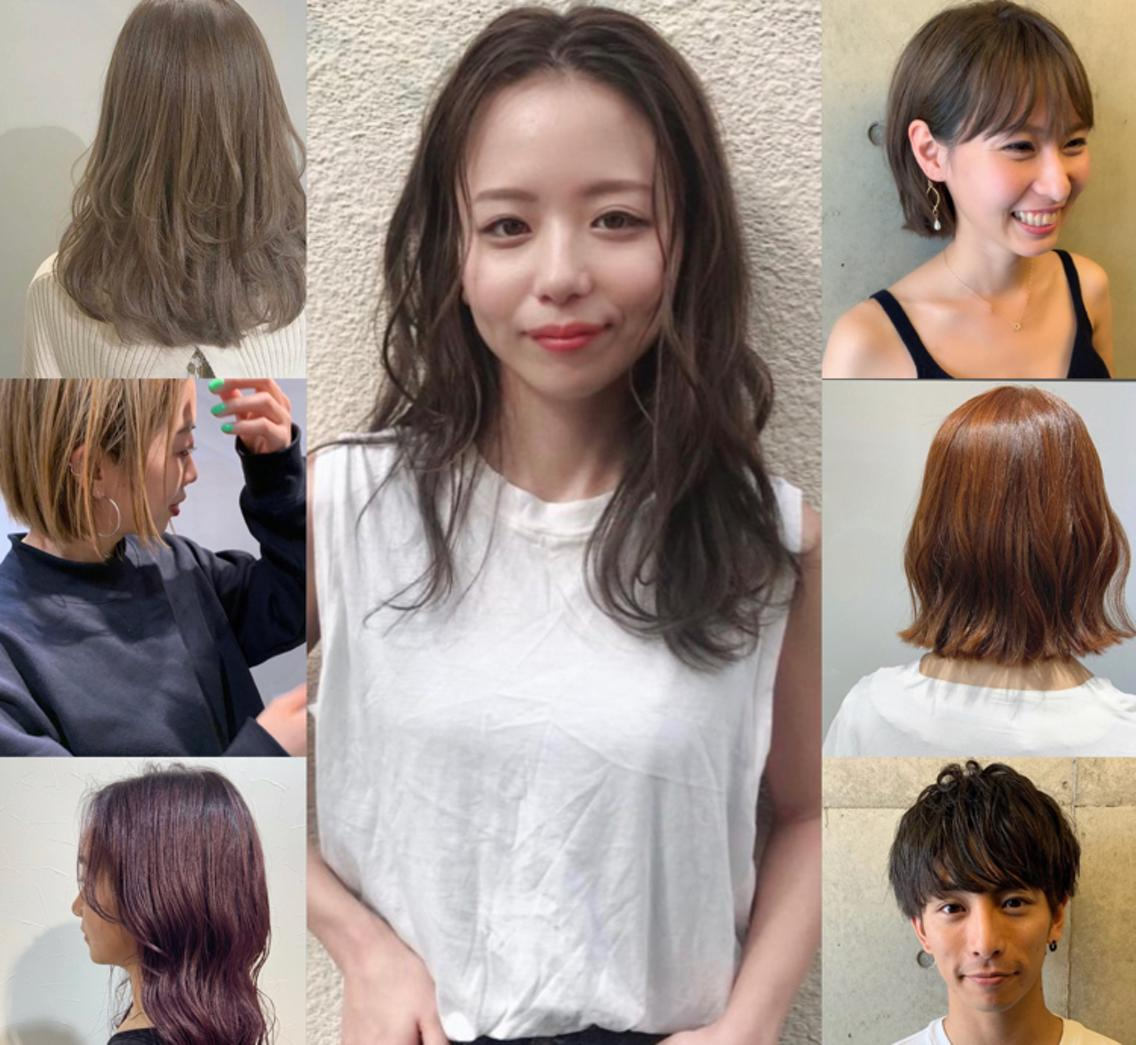 As hair所属・砂走真希の掲載