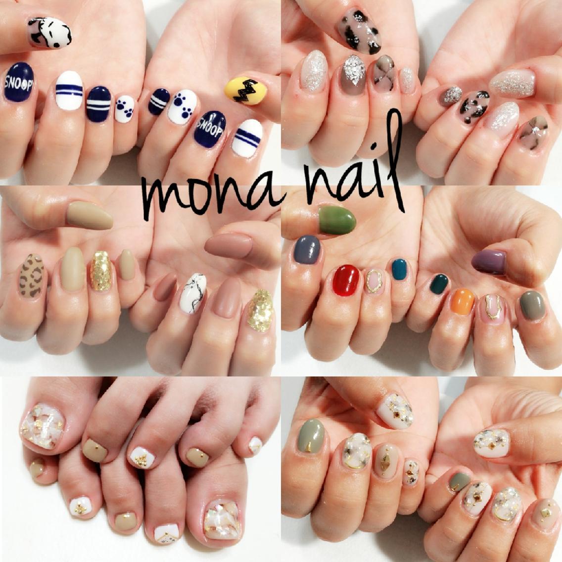 mona nail所属・mona nailの掲載