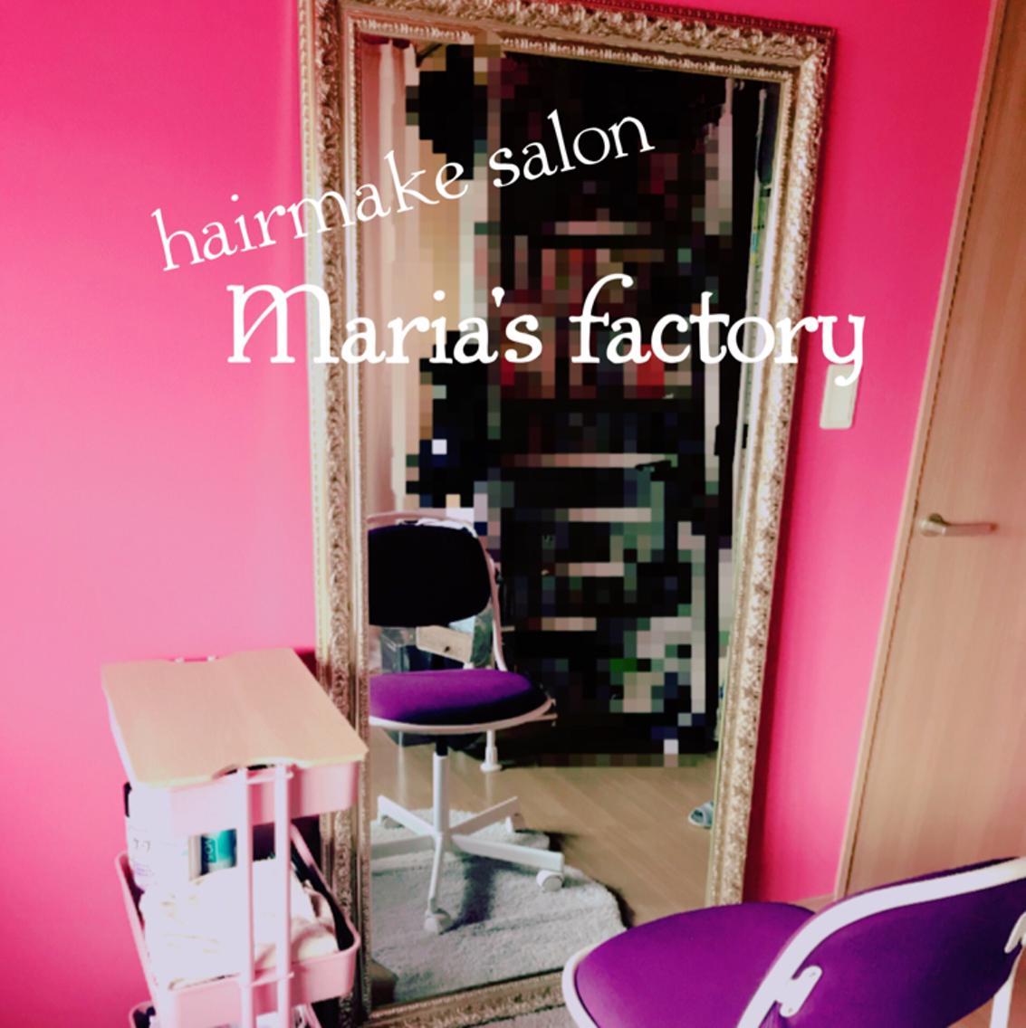 MARIA'SFACTORY所属・hair&makeMiiの掲載