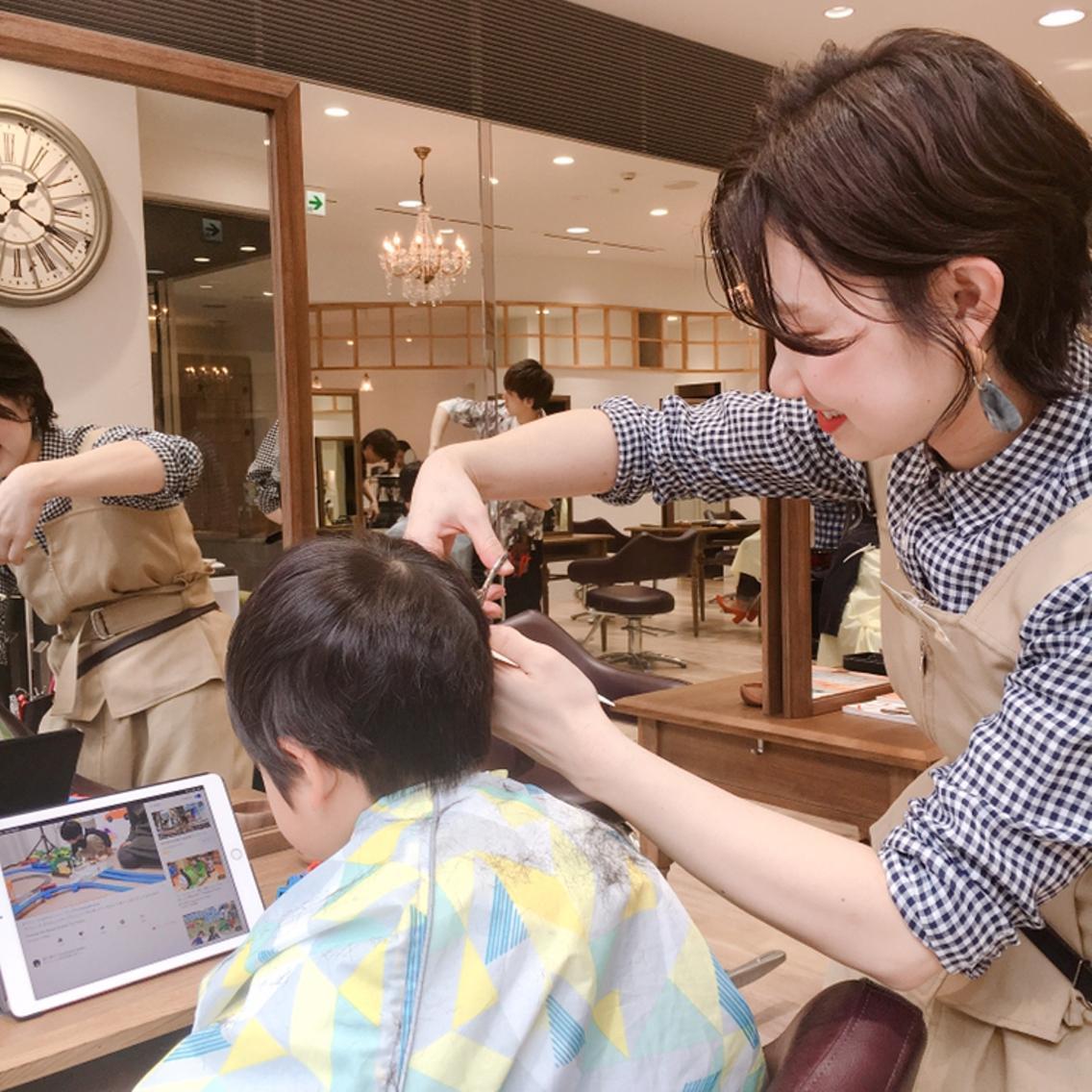 hair&makeFullhouseminamiyama所属・小島 恵理の掲載