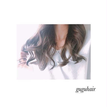 THROWカラーアッシュ8トーン gu gu hair所属・gu gu hairMATSUのスタイル