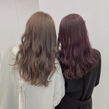 🕊 透明感カラー + 3ステップトリートメント 🕊 お好きな色で艶髪 🕊 炭酸スパ付き