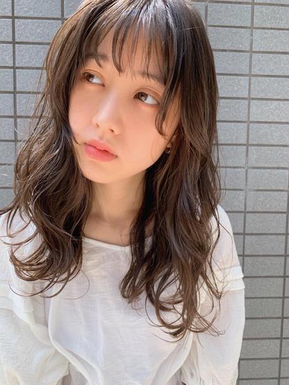 🌷【人気メニュー】カット+ 艶・高発色カラー+トリートメント