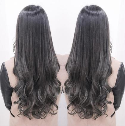 常山篤志のセミロングのヘアスタイル