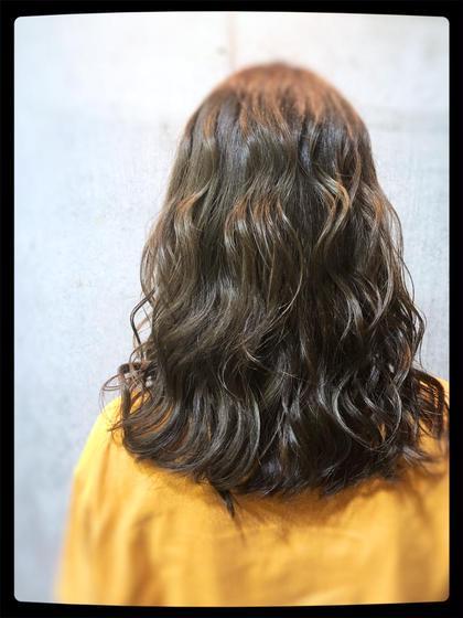 カット+透明感抜群アディクシーカラー+ミルボン髪質別3stepトリートメント