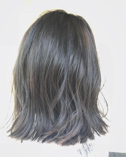 濃いめのグレージュに仕上げました✨ hair circle geep 千舟町店所属・原伊緒里のスタイル