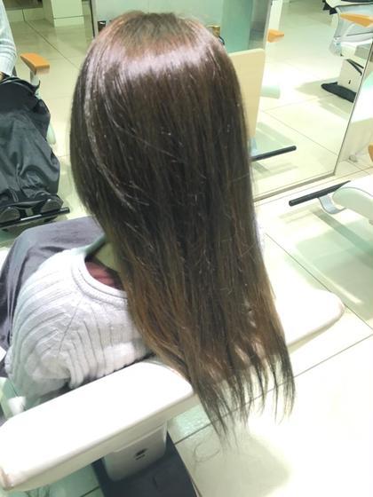 透明感ある外国人風カラーに(^_^) TELLACELUXBEJR西宮店所属・川本あゆのスタイル
