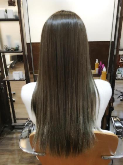 【1月クーポン】イルミナカラー+コラーゲン+アクアスチーム+コテ巻きorヘアアレンジ