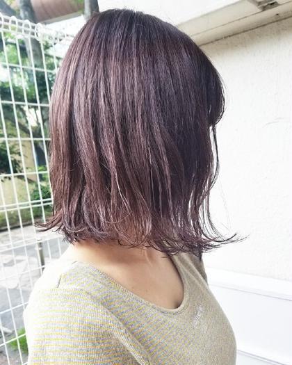 【メンテナンスメニュー】リタッチカラー