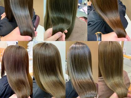 🥀新規🥀髪質改善カラー&髪質改善トリートメント
