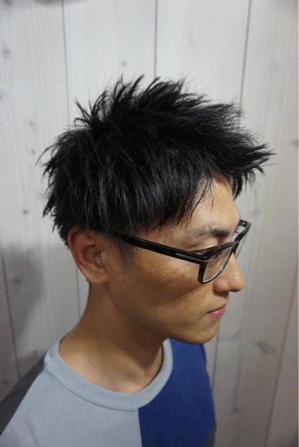 アップバングショート🇲🇺 TREVORDE'RTIZAN所属・外山哲士のスタイル
