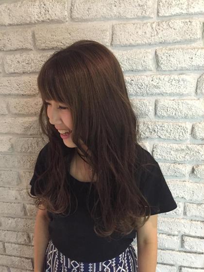 ラベンダーアッシュ☆LA☆ 柔らかい雰囲気になります♪ MASHUADOBE店所属・藤田幸奈のスタイル