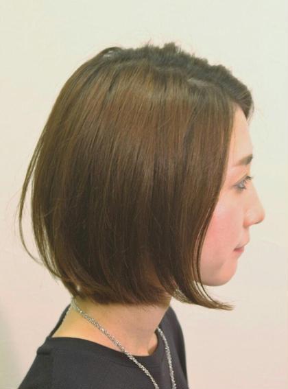 ナチュラルストレートボブ☆ THETA 所属・yoshida ☆のスタイル