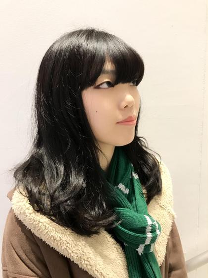 重めのスタイル! mod's  hair金沢所属・kawaetakuyaのスタイル