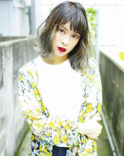 minimo限定メニュー★カット & ヘアカラー &トリートメント《平日のみ》