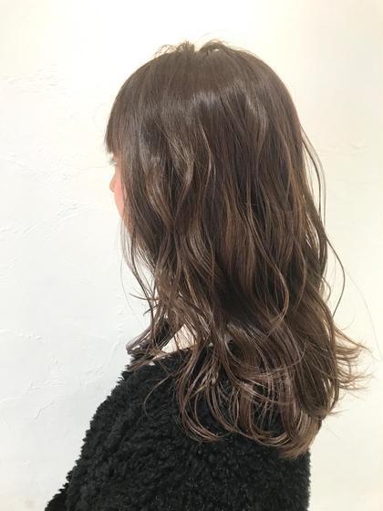 ✨5月限定✨❣️グラテーションカラー&髪質改善トリートメント&ブロー料金込み&バングカット込み❣️