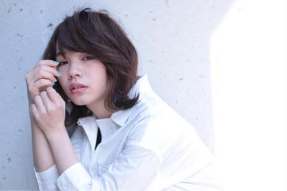 ♡大人ミディアム♡ Ash 渋谷所属・石川百有のスタイル