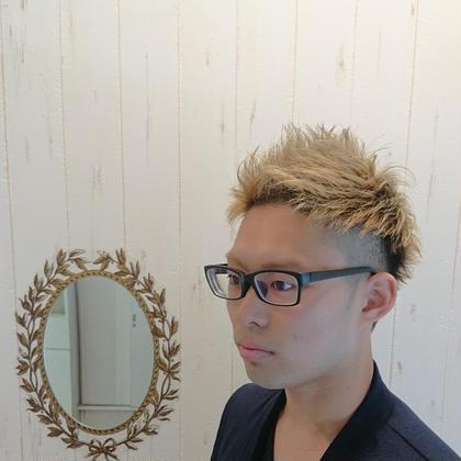 束感!! 畠山惇也のメンズヘアスタイル・髪型
