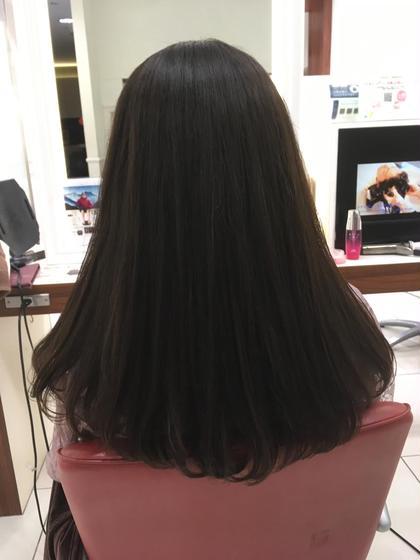 【 自然なストレート髪に🍃 】カット + ストレート
