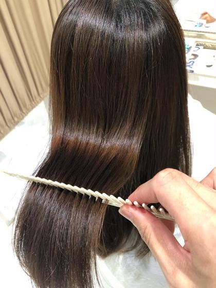 💇🏻♀️カット+髪質改善ストレート✨ダメージが気になるけどストレートにしたい!そんな方は是非✨