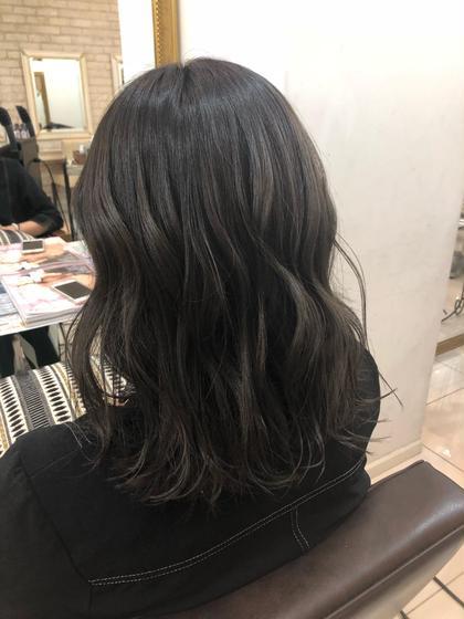 新規 髪質改善プラチナトリートメント+オーガニックカラー✨