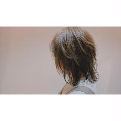 艶のある綺麗な髪へ color+3stepトリートメント