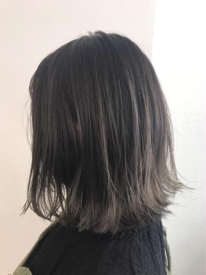 💖minimo限定メニュー💖前髪カット&透明感カラー&保湿トリートメント