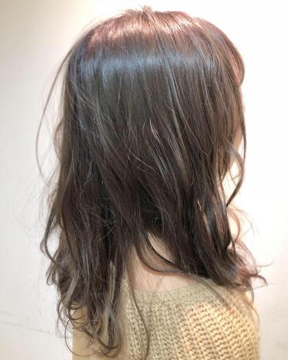 髪質改善コース カット & ダメージレスカラー (イルミナカラー)& トリートメント