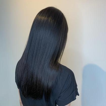 伸ばしている方必見👀‼︎ 傷んでいる部分をメンテナンスカット✨さらにオージュアトリートメントで艶々の髪へ🌿
