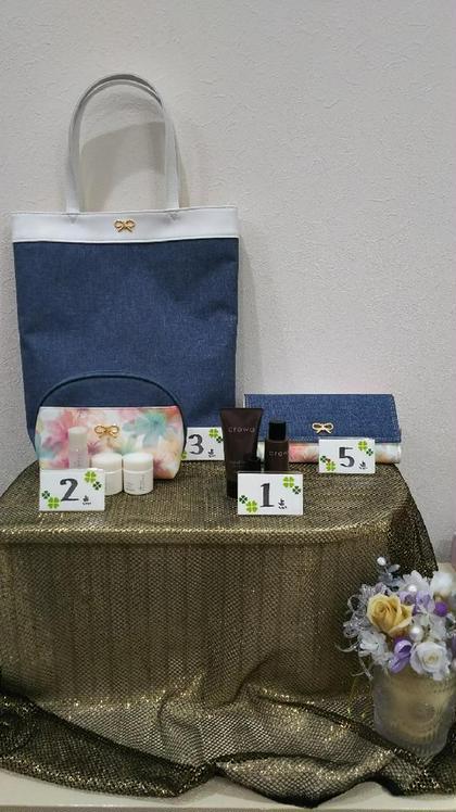 対象商品購入でプレゼント品をゲット フェイシャルサロンひうち所属・石川いく代のフォト